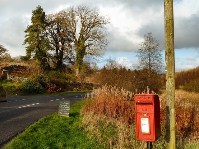 Post Box at House o' Hill
