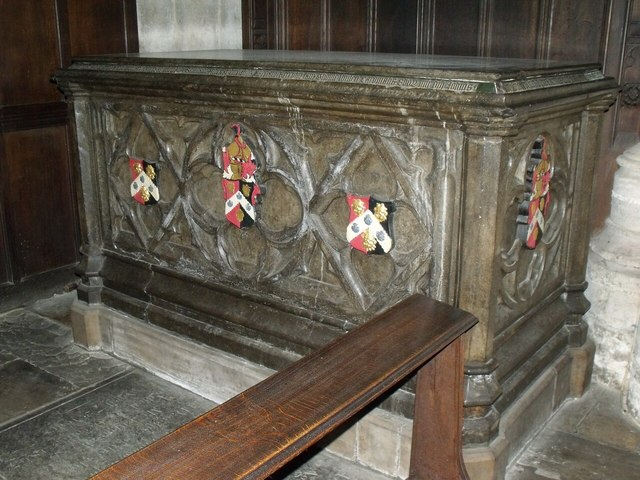 Tomb of Robert Brown, St Mary Magdelene church, Newark