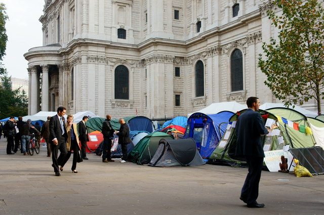 Occupy London Encampment