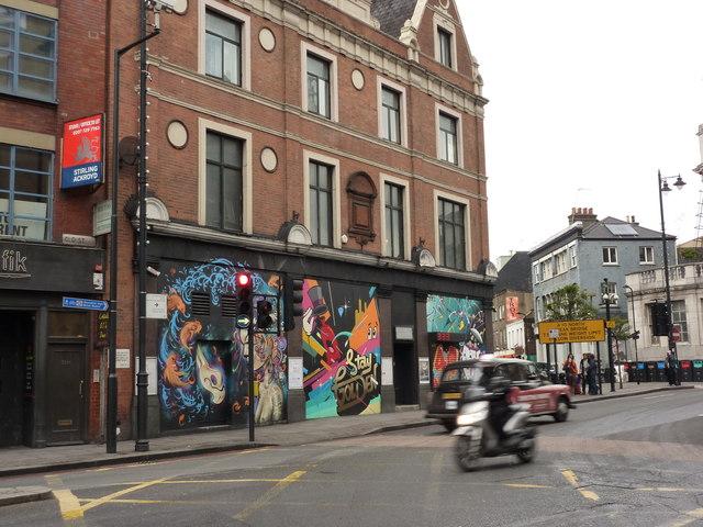 Wall Art Old Street Shoreditch 169 Peter Barr Cc By Sa 2 0