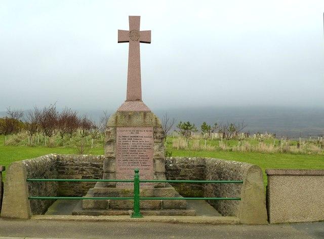 War Memorial - Orphir