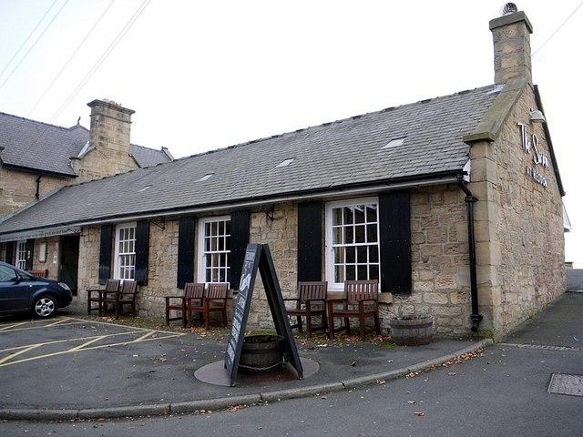 Former forge, The Swan, Heddon