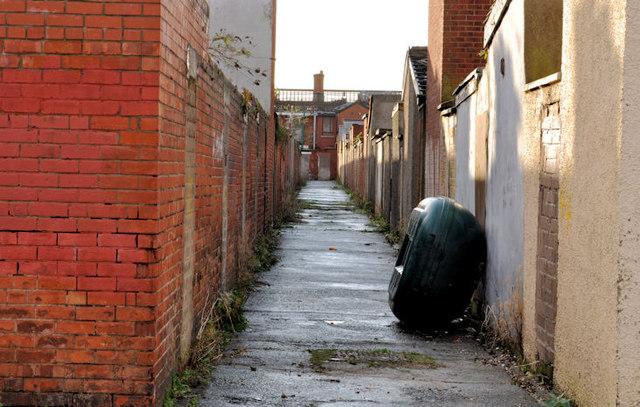 Back entry, Belfast (7)