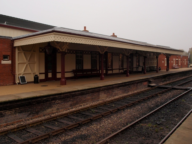 The New Canopy at Sheffield Park Station