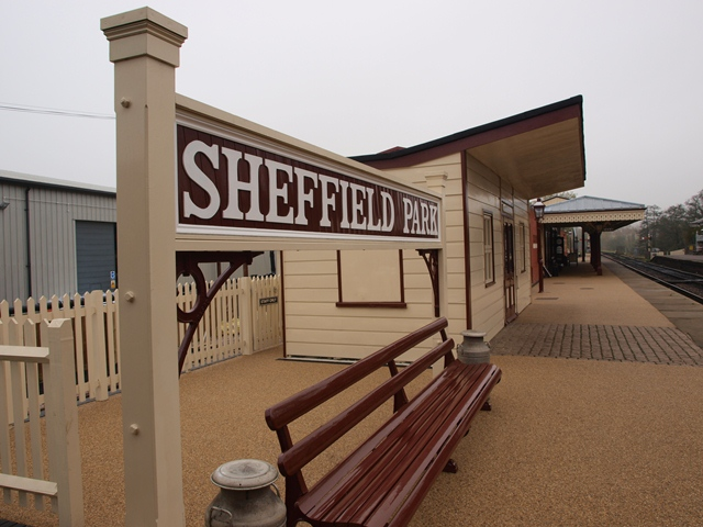 The Newly Restored Buildings at Sheffield Park Station