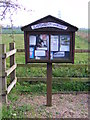 TM3684 : Ilketshall St.Margaret Village Notice Board by Adrian Cable