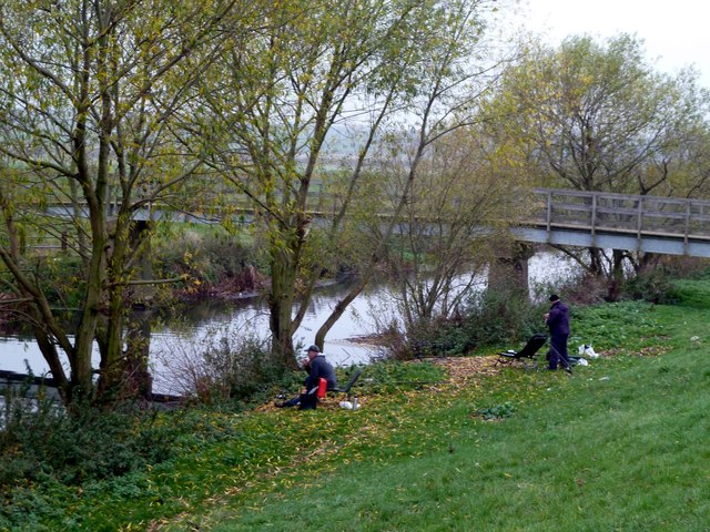 Fishing in the River Dearne