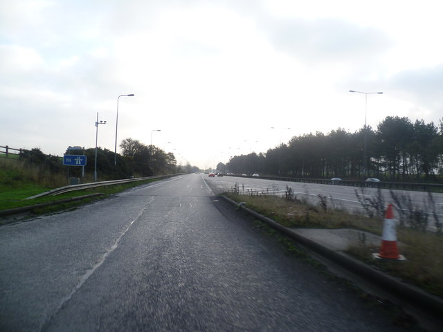 Leaving Keele Services M6