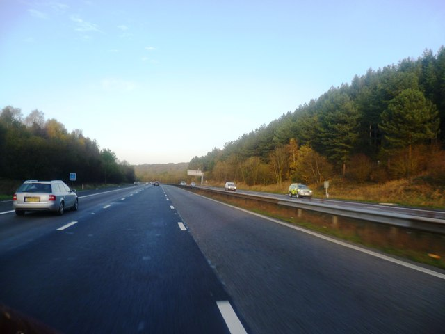 M6 at Waltons Wood