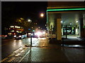 TQ2978 : Vauxhall Bridge Road at night by Peter Barr