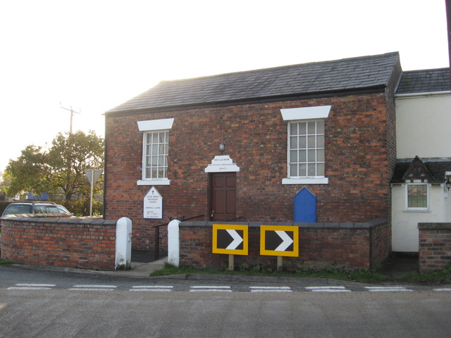 Methodist Chapel at Pear Tree Farm-Clivegreen Lane