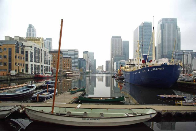 West India Dock & Lord Amory