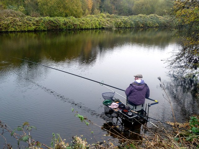 Fishing In The River Don 169 Graham Hogg Geograph Britain