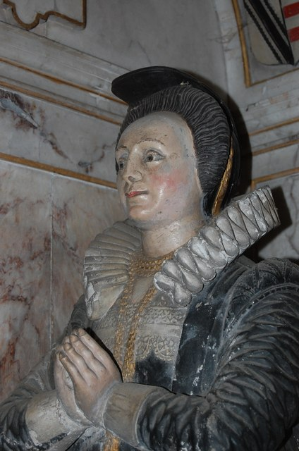 Martha Whitfeld, Memorial, St Mildred's church, Tenterden
