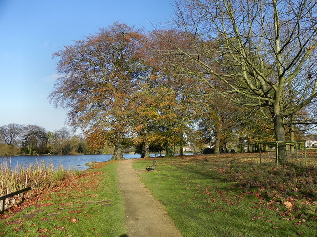 Poynton Park and Lake