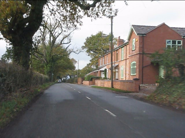 Hockley Heath - housing on Spring Lane (B4101)