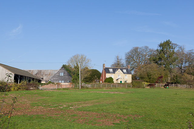 Buildings at Manor Farm, Itchen Stoke