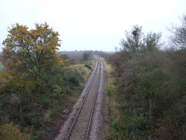 Railway heading west
