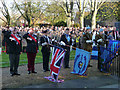 SU3645 : Andover - Remembrance Sunday by Chris Talbot