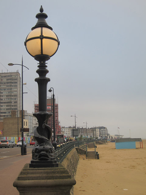 Lamp by Marine Terrace