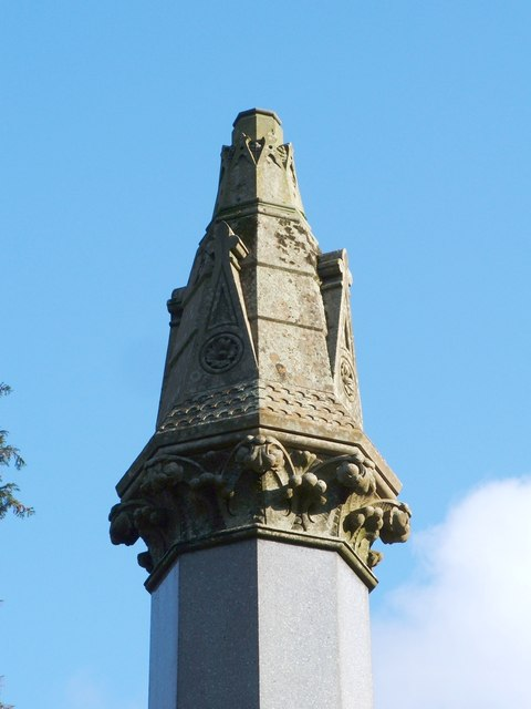 The Helenslee Family Memorial (detail)