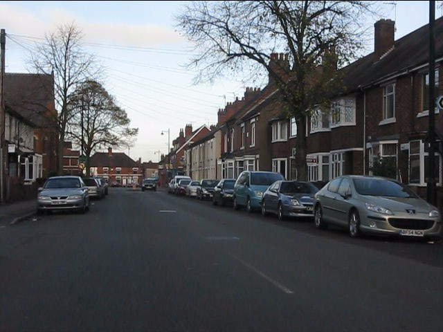 Manor Court Road north of Earls Road