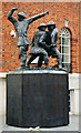 TQ3281 : Blitz - The United Kingdom Firefighters National Memorial by Peter Trimming