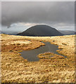 NY2112 : A small tarn on Grey Knotts by Karl and Ali