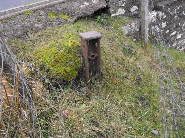 Railway Strainer Post