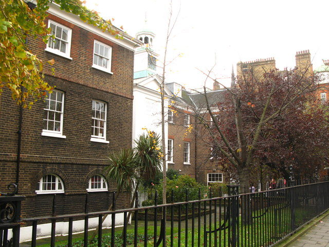 The (former) Grey Coat Hospital (1698-1955), Greycoat Place, SW1 (2)