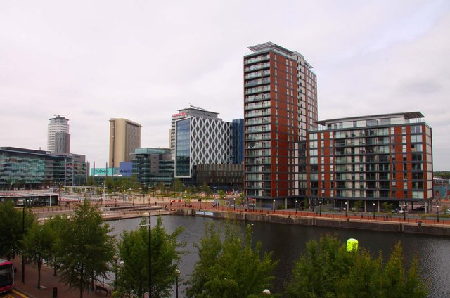 The Huron Basin at Salford Quays