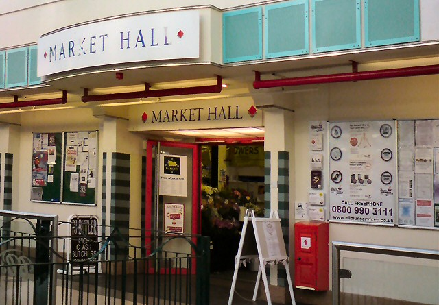 Market Hall Entrance