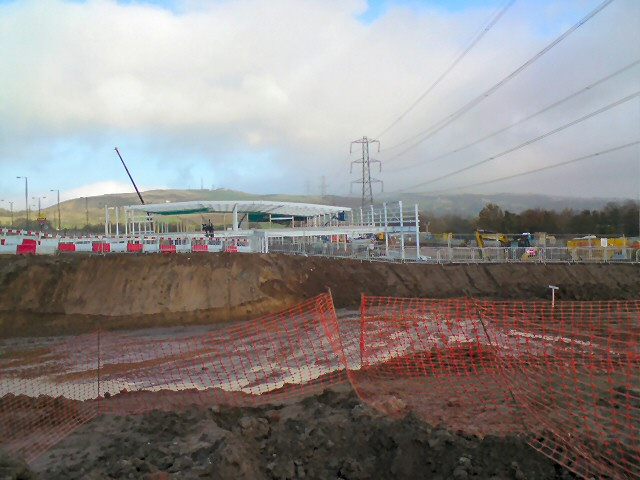 Tesco under Construction