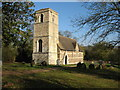 TL3362 : All Saints Church, Knapwell by David Purchase