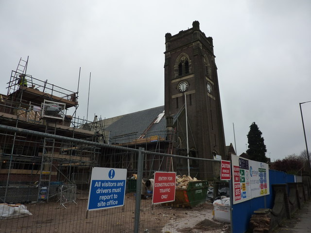 House building and church re-roofing