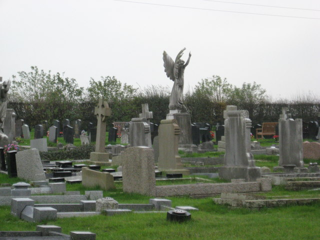 Cemetery at Weaver Methodist Chapel
