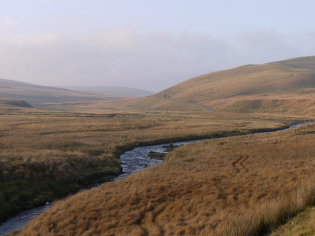 The Afon Elan above Aber Glanhirin