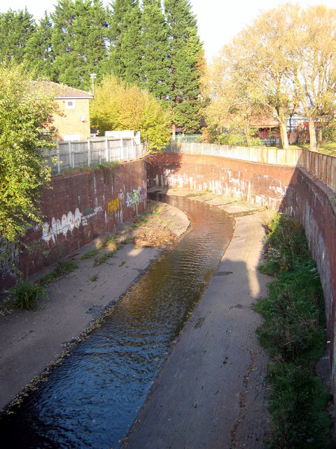 River Rea  After Passing Under Gooch Street