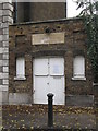 TQ3579 : St. Mary Rotherhithe - Watch House by Mike Quinn