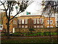 TQ3480 : The (former) Raine Street charity school, E1 - rear by Mike Quinn
