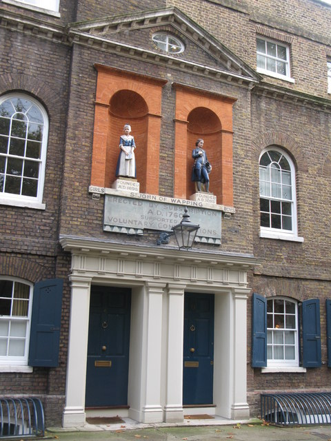 The (former) St. John's School, Scandrett Street, E1