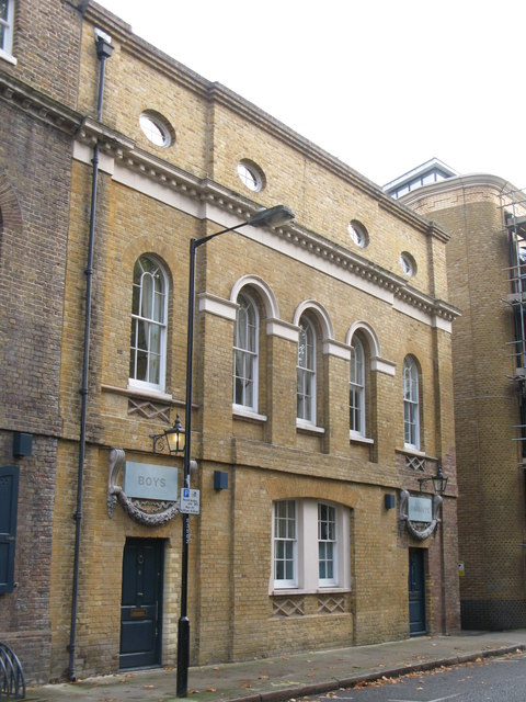 The (former) St. John's School, Scandrett Street, E1 - extension