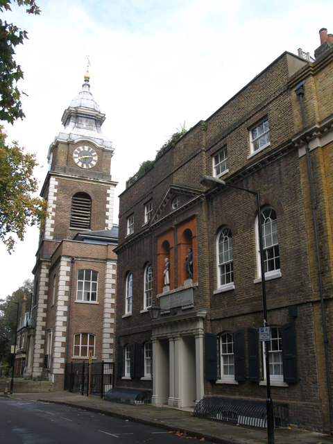 The (former) St. John's Church and School, Scandrett Street, E1