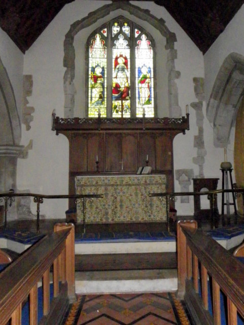 Church interior, St Peter's Church