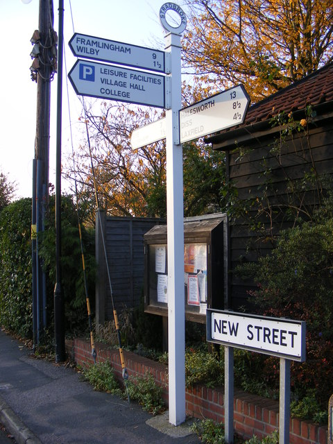 Roadsigns on New Street