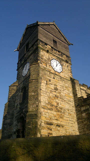 Spire of the Parish Church of St Leonard, Middleton