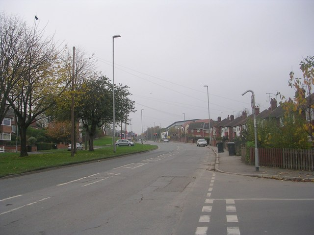 Whitehall Road - viewed from Prince Edward Road