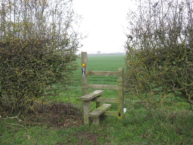Stile & Footpath to Stove Room Wood
