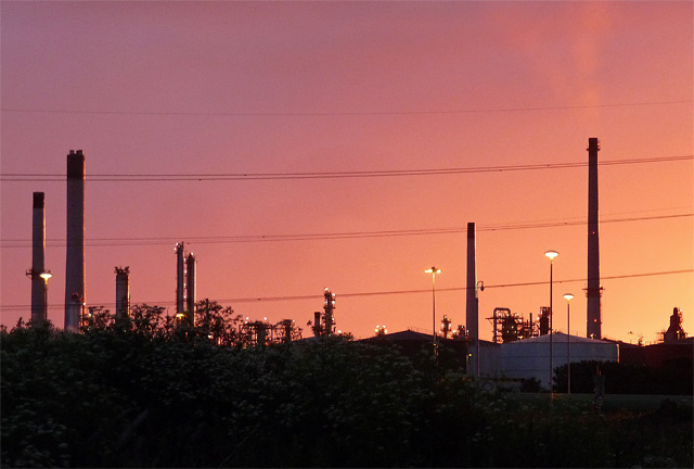 Oil refinery near South Killingholme (6)