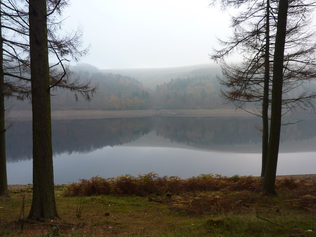 Reflections in Derwent Reservoir